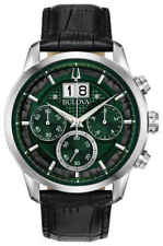 Bulova Sutton Chronograph Quartz Green Dial Men's Watch 96B310