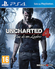 Uncharted 4 Fine Di Un Ladro PS4 Playstation 4 IT IMPORT