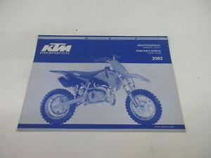 Ktm 50 Mini Junior Senior De 2002 Catálogo Piezas Repuesto Chasis Motor 3.208.39
