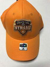 Houston Dynamo adidas MLS Soccer Team Logo Flex Fit Soccer Cap Hat S/M