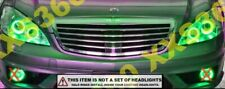 ORACLE Headlight HALO KIT RINGS for Mercedes Benz S-Class 07-09 GREEN LED