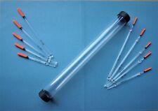 32 mm x 300 mm Float Tube + 10 Vide Clair Flotteurs