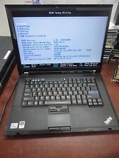 "Lenovo ThinkPad T500 15.4"" Core 2 Duo 2.53Ghz 4GB 160GB DVDRW  WiFi Laptop"