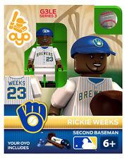Rickie Weeks MLB Milwaukee Brewers Oyo Mini Figure NEW G3
