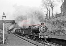 PHOTO  LNER LOCO 64611 BACK 'O LOCH HALT  RAILWAY STATION 270162 CR147