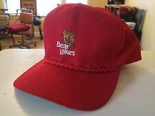 Rare Vintage Bear Lakes Golf Club Rope Bill Snapback Hat Cap by New Era