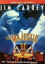 THE MAJESTIC (2001) di  Frank Darabont - Jim Carrey - DVD EX NOLEGGIO - WARNER