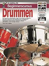 Beginnerscursus Drummen - Drums - BOOK+CD+DVDNew