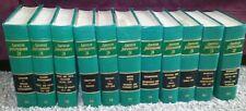 Law Books: American Jurisprudence 2d  vol. 70-72,74,75 77-82 Green Color vintage