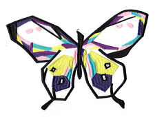 Colorful Butterfly: Embroidery and Organza Patch