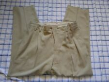 Tommy Bahama mens 100% silk pants slacks  dress casual 35 x 34 relaxed fit