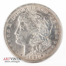 1921 Morgan One Dollar Silver Silber Münze USA Amerika Coin Liberty