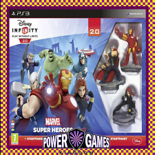 Disney Infinity Starter Pack 2.0 Marvel Super Heroes PS3 (Sony PlayStation 3) BN