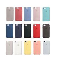 Original Silicone Soft Case For iPhone SE 11 XR 11 Pro XS Max 6 6S 7 8 Plus X