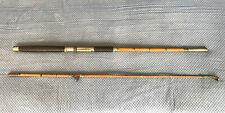 Vintage/Antique Split Bamboo HEXAGON 6-1/2' 2-piece Fishing Rod Pole