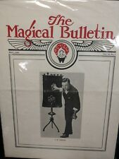 Thayer's The Magical Bulletin J.D. Leslie Issue 1925 Vol.12 No.7