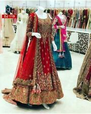 Bridal Lacha Lehenga Choli Suit Designer Lengha Indian Wedding Wear Bollywood