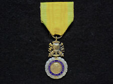 """WWI French """"Médaille Militaire"""" Military Medal - Valor in Combat"""