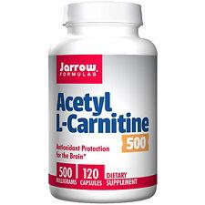 Jarrow Acetyl L-Carnitine 500 mg 120 Capsules