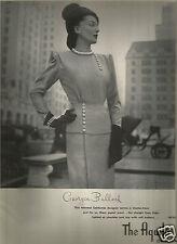 40's The Aquila Omaha Georgia Bullock Fashion Ad