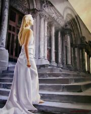 Chris Dellorco - The Emergence - Blonde Woman Giclee on CANVAS HS&#  Gallery COA