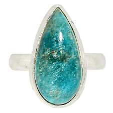 Apatite - Brazil 925 Sterling Silver Ring Jewelry s.6.5 BR42302