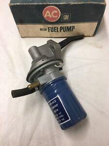 NOS AC 41124/GM 6470974. Fuel Pump. 1975-1976 Ford Trucks. V8 (CP4)