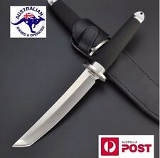 NEW design Japan Cold Steel Fixed Blade Hunting Knife with leather sheath