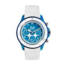 Ice-Watch ICE DUNE Chronograph Extra Large White Superman Blue Mens Watch 014224