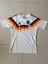 1990 Germany World Cup Home Retro Vintage Soccer Jersey L Size