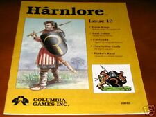 Harnlore Issue #10 1992 Harn Columbia RPG Magazine NM Color Map Bagged & Boarded