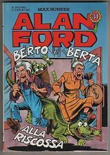 ALAN FORD # 375 BERTO E BERTA ALLA RISCOSSA mbp 2000 max bunker