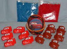 Cars,McQueen,Cupcake Kit,Rings,Sprinkles,Bake Cups,Wilton,415-6405,Blue/Red