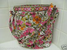 Vera Bradley TEA GARDEN  Quick Draw  Crossbody /  Shoulder Bag R$78.00