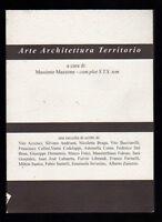 ARTE ARCHITTETTURA TERRITORIO A CURA DI MASSIMO MAZZONE - com. plot S.Y.S. tem