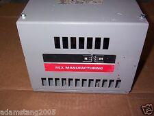 Rex Manufacturing 3PR-0011C5L/E Reactor W/ Enclosure 11 Amp 600 Volts Max