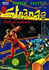 STRANGE N°138 EN TRÉS BON ÉTAT- L' ARAIGNEE - DAREDEVIL - IRON MAN - ROM (1981)