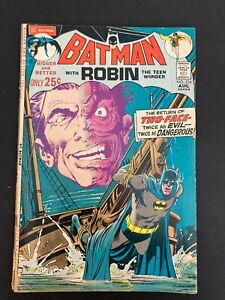 Batman 234 Good/Very Good 3.0 1st Silver Age Two-Face  DC Bronze Age
