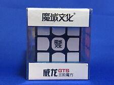 U.S. SALE  MoYu WeiLong GTS Black 3x3x3 Magic Speed Cube Holiday Adult Kids Gift