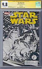 STAR WARS # 17 Dodson 1:100 Sketch Variant Cover CGC 9.8 Marvel 2015 SS
