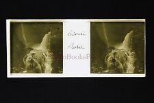 Italie Italia Tivoli Plaque stéréo pos.ca 1910