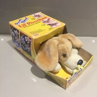 Playskool Vintage Lil Pooches Dog NRFB 1991 80s Pound Puppy Puppies Patrol Boy