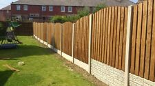 Wooden Heavy Duty Double pailing fence panels 6 x 3