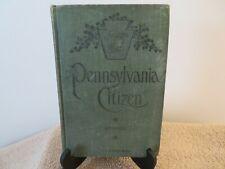 Pennsylvania Citizen Book  HC  1902   by L.S. Shimmell