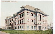 High School Salem Oregon c1912 Mitchell Building Postcard Architecture