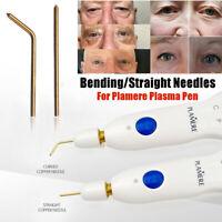 10/20pcs Bending Straight Needles for Plamere Plasma Pen Mole Remover Machine