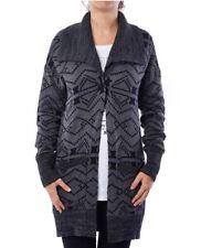 NEW Hurley Women's Mojave Cardi Sweater Cardigan GSW0000430 00AS Gray SZ XL