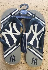 New York Yankees Big Logo Flip Flop Sandals, Bnwt, Unisex Size Small, Womens 7/8