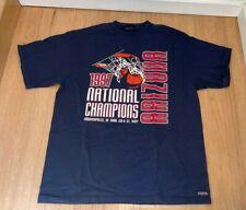Vintage 1997 JanSport University of Arizona Wildcats Basketball T-shirt Tee XL