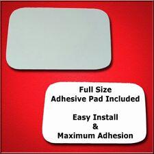 Full Adhesive For 84-04 E-150,E-250,E-350 Driver Sid Mirror Glass Replacement